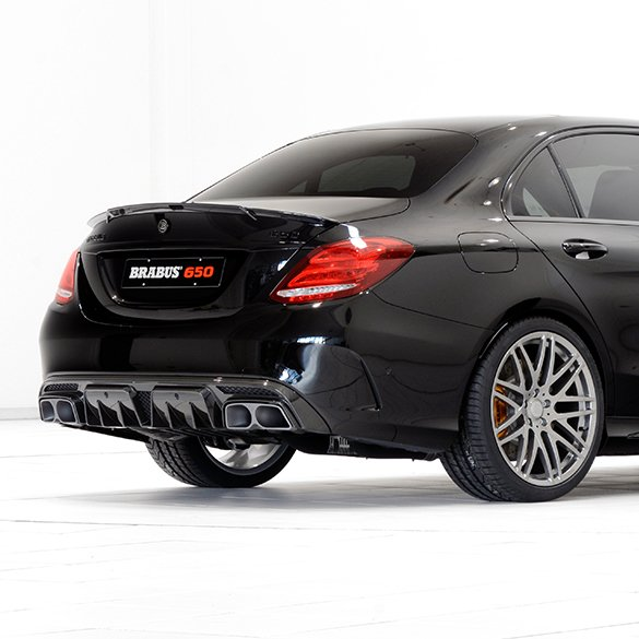 brabus fold exhaust system c 43 c 63 amg mercedes benz c class 205