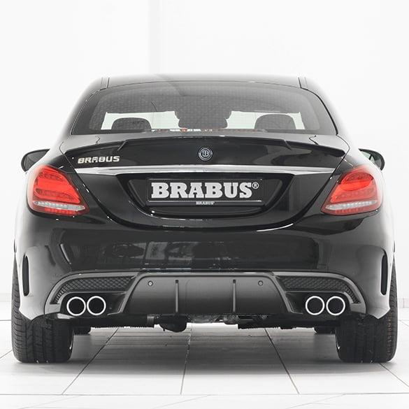 Mercedes Benz Brabus >> Brabus Sports Exhaust Rear Muffler Limousine Diesel Mercedes Benz C Class W205