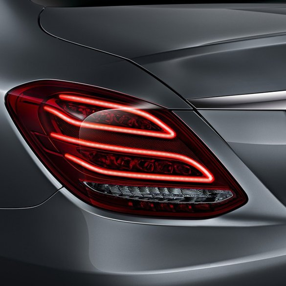 LED rear lights C-Class W205 original Mercedes-Benz