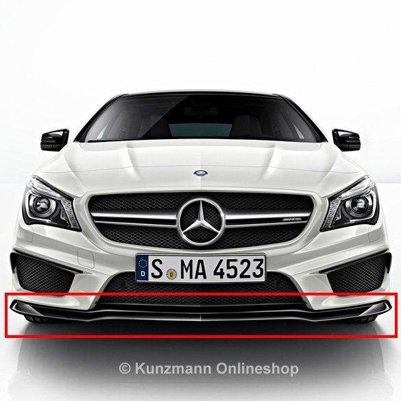 CLA 45 AMG spoiler lip | Night-Package | genuine Mercedes-Benz