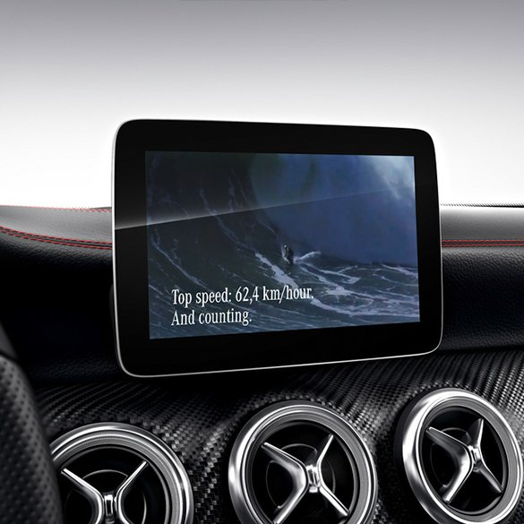 "Media Monitor 20,3 cm 8"" CLA 117 original Mercedes-Benz"