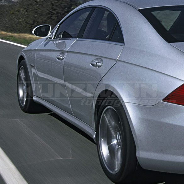 AMG side skirts CLS W219 | genuine Mercedes-Benz