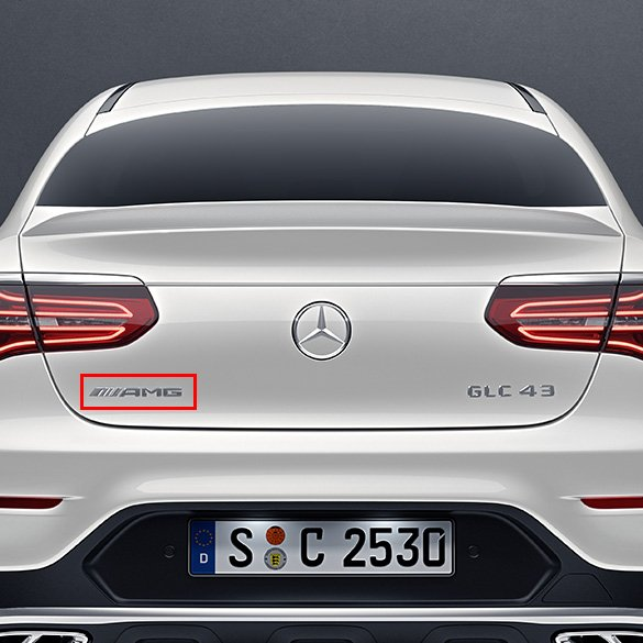 Amg Logo Glc 253 Genuine Mercedes Benz The current status of the logo is obsolete, which means the above logo design and the artwork you are about to download is the intellectual property of the copyright and/or trademark holder and is offered. amg logo glc x253 c253 genuine mercedes benz