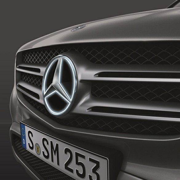Mercedes Star illuminated GLC X253 LED Technology Genuine Mercedes-Benz