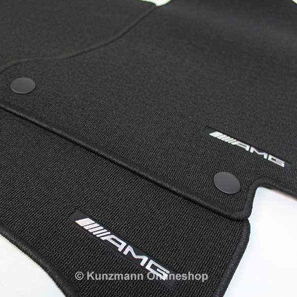 Amg floor mats set glc suv x253 glc coupe c253 genuine for Mercedes benz winter floor mats