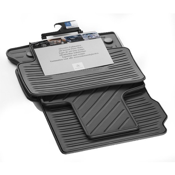 original Mercedes-Benz Car rubber floor mats black GLK-Class X204