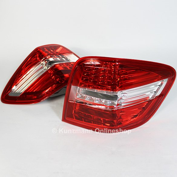 Genuine Mercedes-Benz LED rear lights M-Class W164 facelift