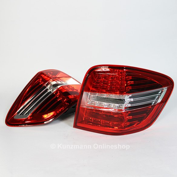 Genuine Mercedes-Benz rear lights M-Class W164 Facelift Grand Edition