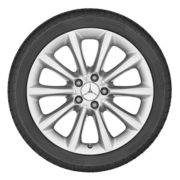 18 inch rim set 10-spoke design GLE W166 original Mercedes-Benz