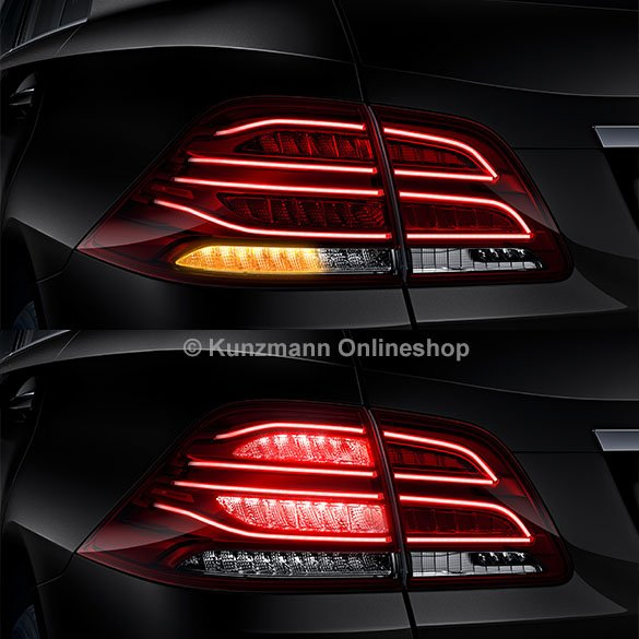 LED facelift rear light set M-Class W166 genuine Mercedes-Benz
