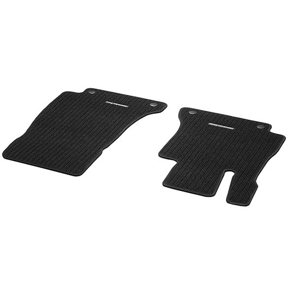 Rep floor mats black 2 pieces e class w213 genuine for Mercedes benz floor mats e350
