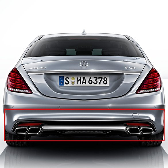 AMG Diffusor S-Class W222 Genuine Mercedes-Benz