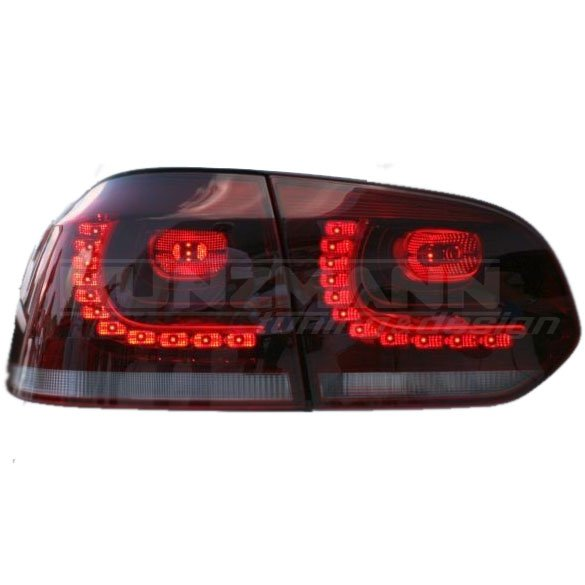 LED taillights taillights cherry VW Golf 6 R Original Volkswagen