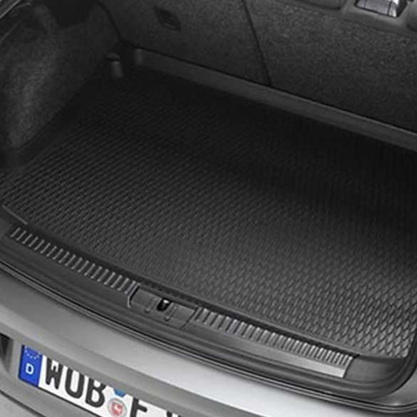 Luggage space tub black flat elevated load floor VW Polo 6R V VI genuine Volkswagen