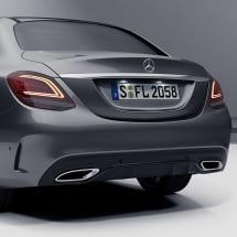facelift LED rear light set C-Class sedan W205 genuine Mercedes-Benz