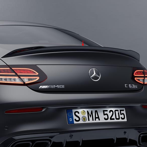 C 63 AMG Facelift rearspoiler aerodynamic package C-Class C205 Coupe black