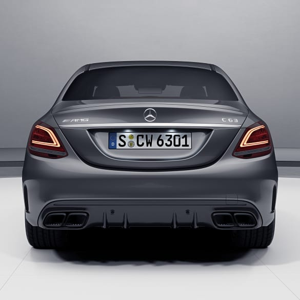 c 63 amg facelift diffusor mercedes benz c klasse w205 s205. Black Bedroom Furniture Sets. Home Design Ideas