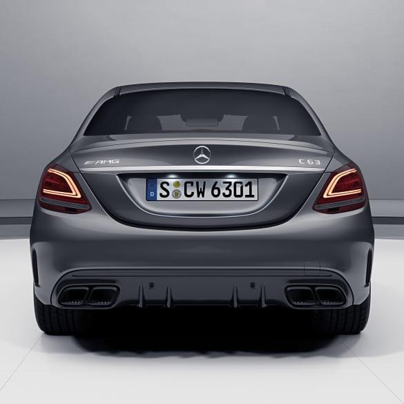 C 63 AMG Facelift Diffusor Mercedes-Benz C-Klasse W205/S205