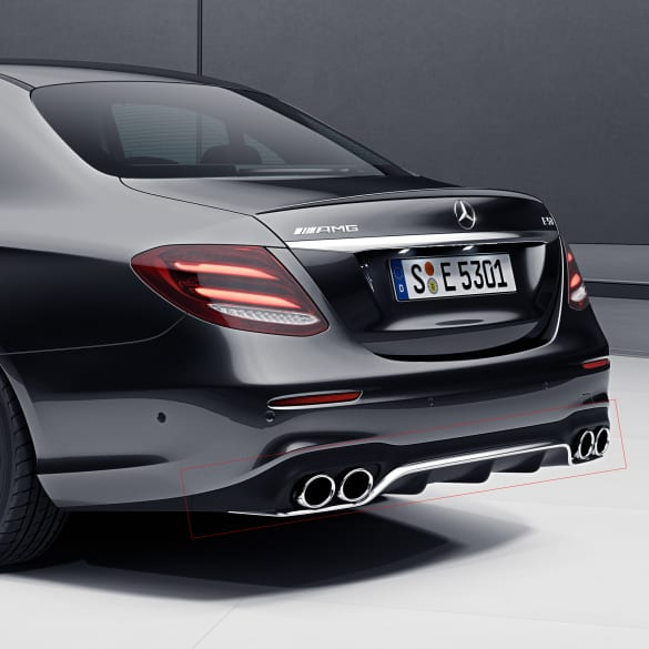 Mercedes Benz E53 Amg Sedan. Two Of Only Three Shelby