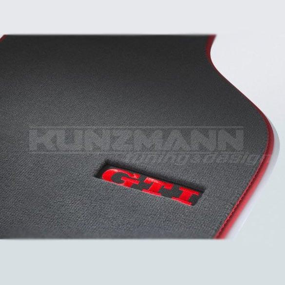 velours floor mats gti golf 5 v 6 vi genuine. Black Bedroom Furniture Sets. Home Design Ideas