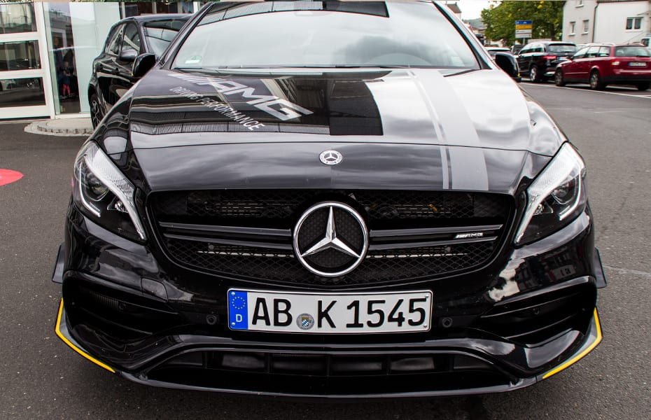 AMG Yellow Night Edition – gelbe Highlights für CLA & A-Klasse