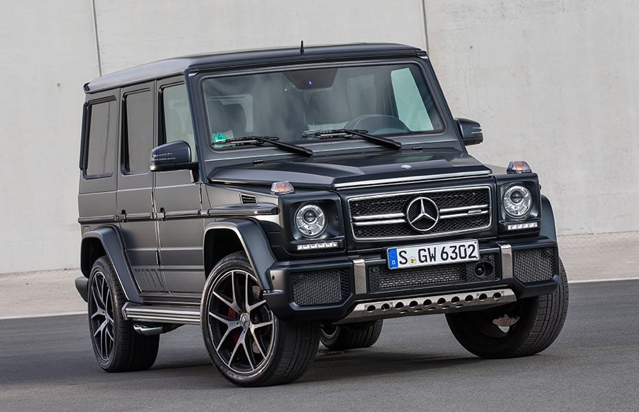 G 63 AMG conversion to Edition 463 optics