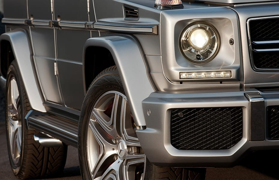 20 & 21 inch AMG alloy wheels of the G-Class W463: 2017/2018