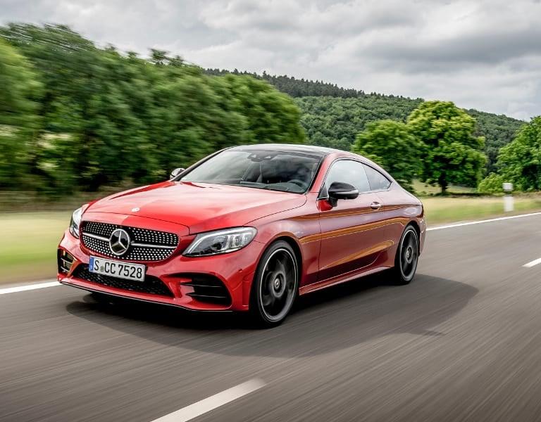 Das Mercedes Benz C Klasse Coupe Sportlich Elegant Kunzmann