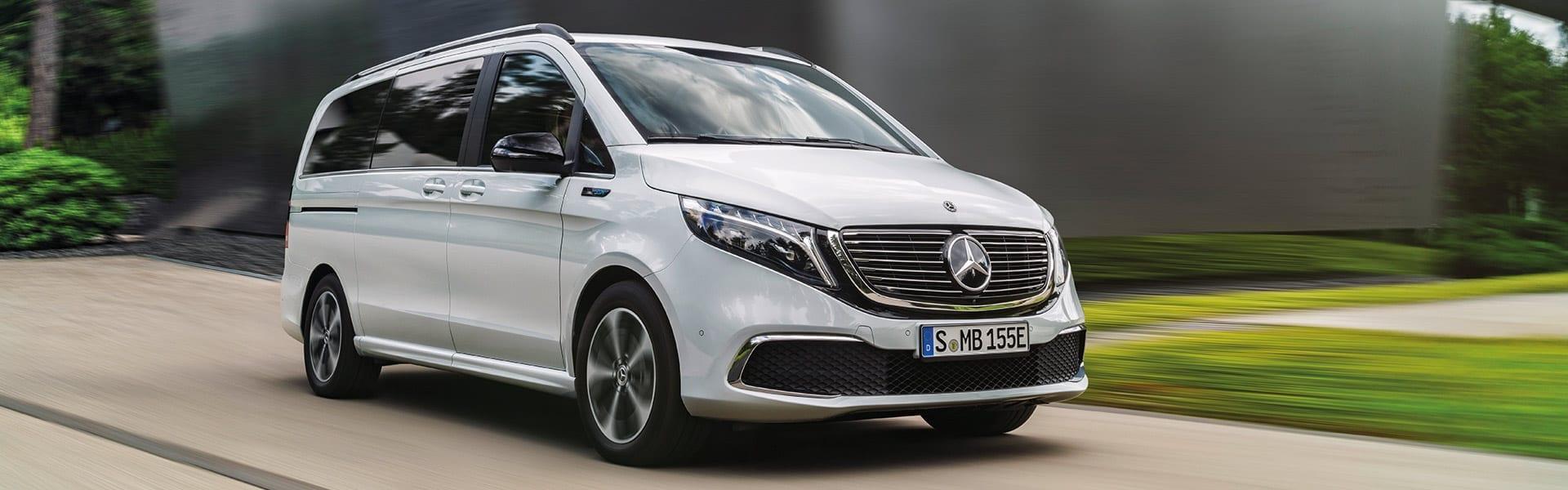 Der Neue Mercedes Benz Eqv Die Erste Elektrische Grossraumlimousine