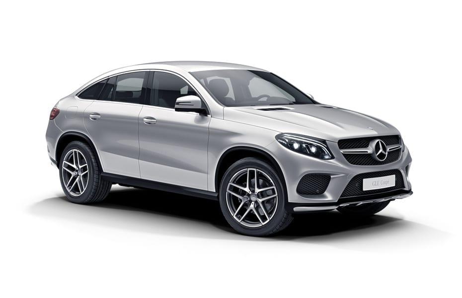 Ladekantenschutz für Mercedes GLE Klasse Coupe Crossover C292 2015-2018