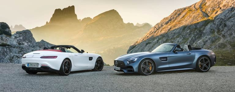 AMG GT Roadster und AMG GT C Roadster (R 190), 2016