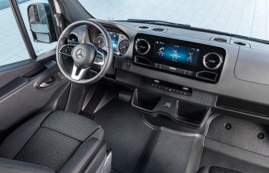 Der Mercedes Benz Sprinter