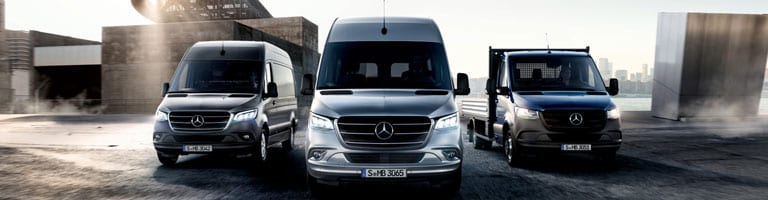 Mercedes-Benz Transporter: Sprinter & Co. bei Kunzmann